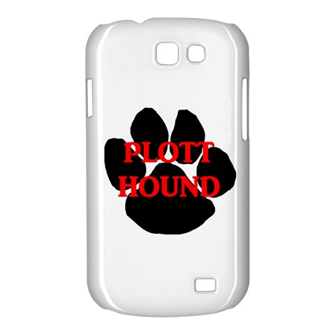 Plott Hound Name Paw Samsung Galaxy Express I8730 Hardshell Case
