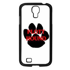 Plott Hound Name Paw Samsung Galaxy S4 I9500/ I9505 Case (Black)