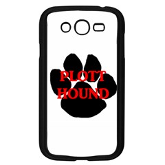 Plott Hound Name Paw Samsung Galaxy Grand DUOS I9082 Case (Black)