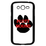 Plott Hound Name Paw Samsung Galaxy Grand DUOS I9082 Case (Black) Front