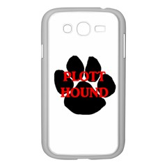 Plott Hound Name Paw Samsung Galaxy Grand DUOS I9082 Case (White)