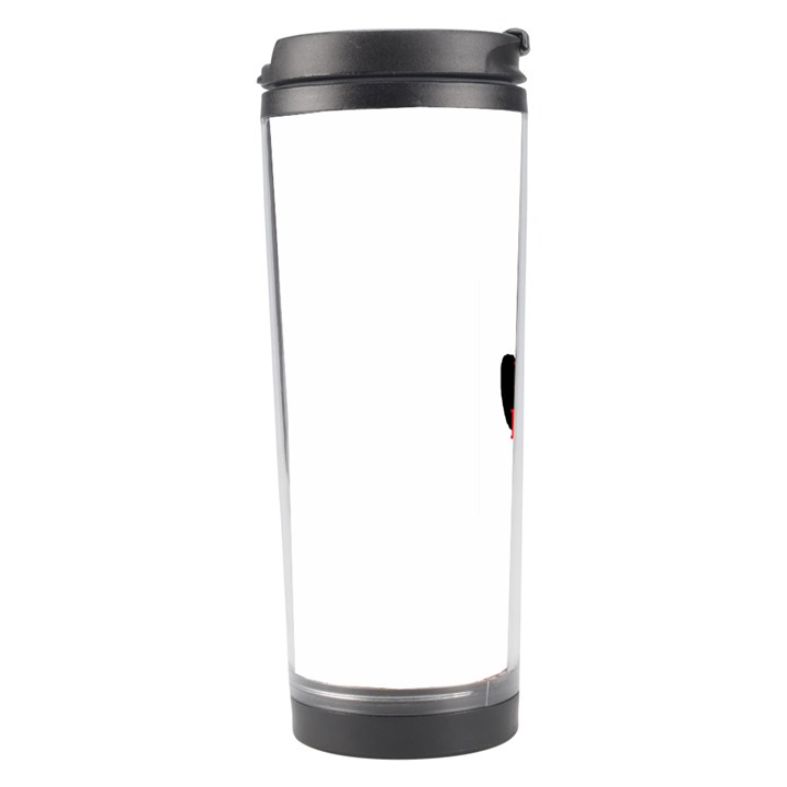 Plott Hound Name Paw Travel Tumbler