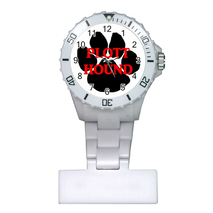 Plott Hound Name Paw Plastic Nurses Watch
