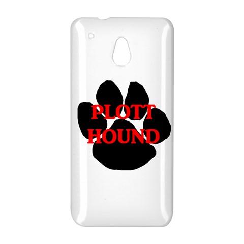 Plott Hound Name Paw HTC One Mini (601e) M4 Hardshell Case
