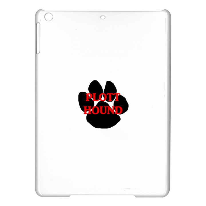 Plott Hound Name Paw iPad Air Hardshell Cases