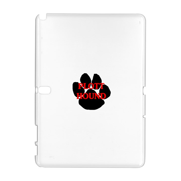 Plott Hound Name Paw Samsung Galaxy Note 10.1 (P600) Hardshell Case