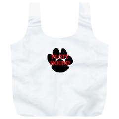 Plott Hound Name Paw Full Print Recycle Bags (L)