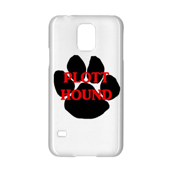 Plott Hound Name Paw Samsung Galaxy S5 Hardshell Case