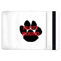 Plott Hound Name Paw iPad Air Flip