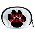 Plott Hound Name Paw Accessory Pouches (Medium)  Back