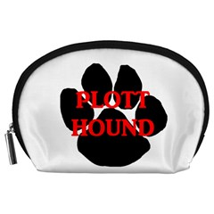 Plott Hound Name Paw Accessory Pouches (Large)