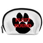 Plott Hound Name Paw Accessory Pouches (Large)  Front