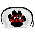 Plott Hound Name Paw Accessory Pouches (Large)  Back