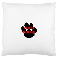 Plott Hound Name Paw Standard Flano Cushion Case (One Side)
