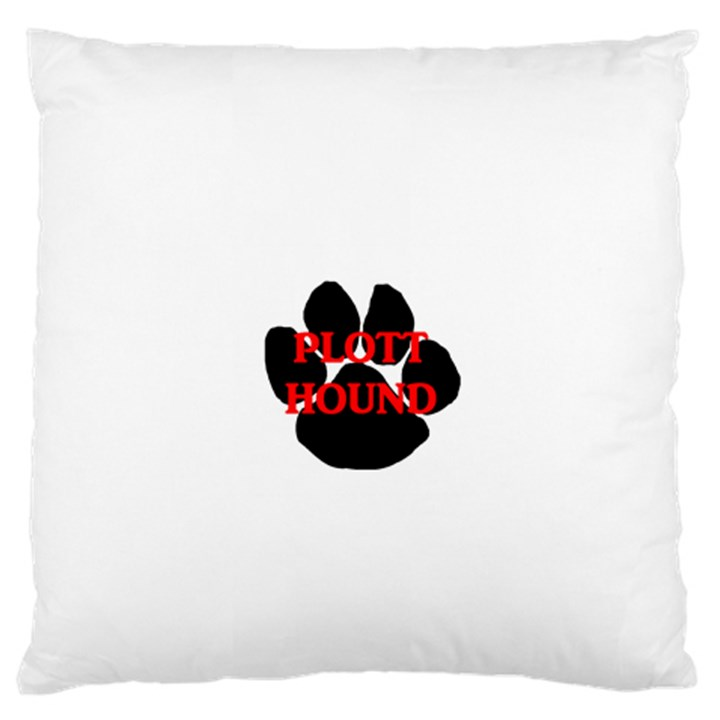 Plott Hound Name Paw Standard Flano Cushion Case (Two Sides)