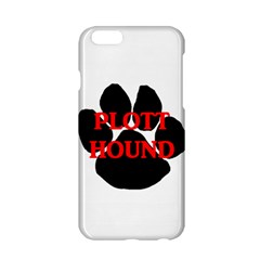 Plott Hound Name Paw Apple Iphone 6/6s Hardshell Case