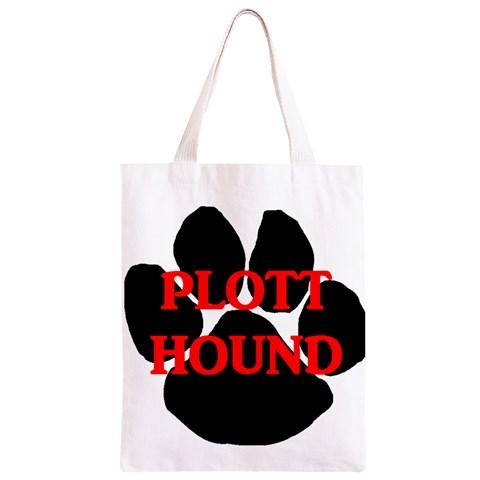 Plott Hound Name Paw Classic Light Tote Bag