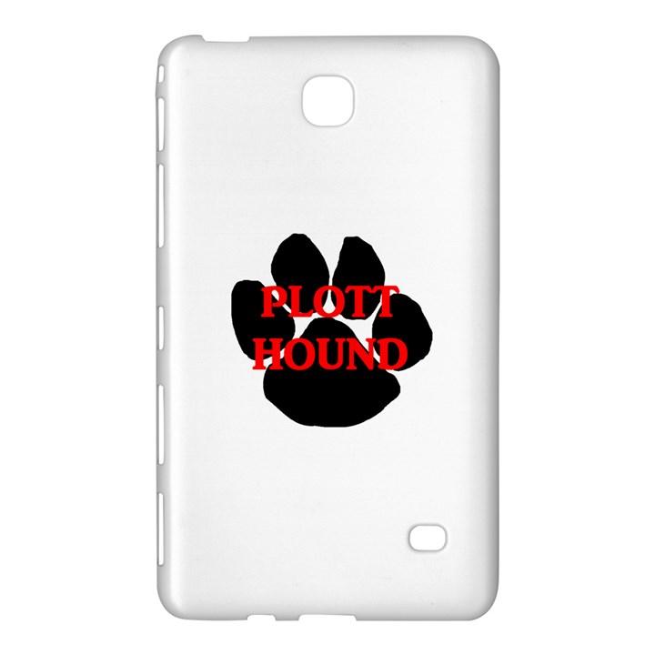 Plott Hound Name Paw Samsung Galaxy Tab 4 (7 ) Hardshell Case