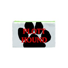 Plott Hound Name Paw Cosmetic Bag (XS)