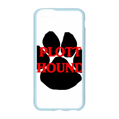 Plott Hound Name Paw Apple Seamless iPhone 6/6S Case (Color)