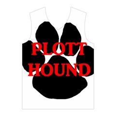 Plott Hound Name Paw Men s Basketball Tank Top