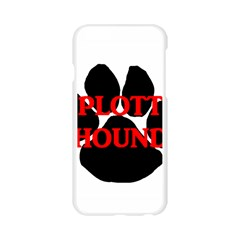 Plott Hound Name Paw Apple Seamless iPhone 6/6S Case (Transparent)
