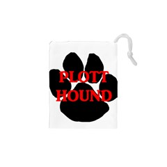 Plott Hound Name Paw Drawstring Pouches (XS)