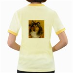 Shetland Sheepdog Women s Fitted Ringer T-Shirts Back