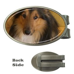 Shetland Sheepdog Money Clips (Oval)