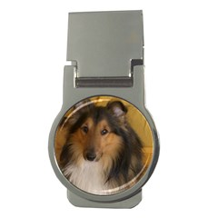Shetland Sheepdog Money Clips (Round)