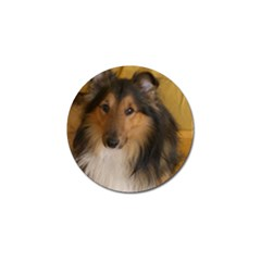 Shetland Sheepdog Golf Ball Marker (4 Pack)