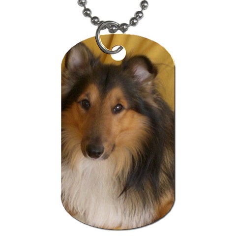 Shetland Sheepdog Dog Tag (Two Sides)