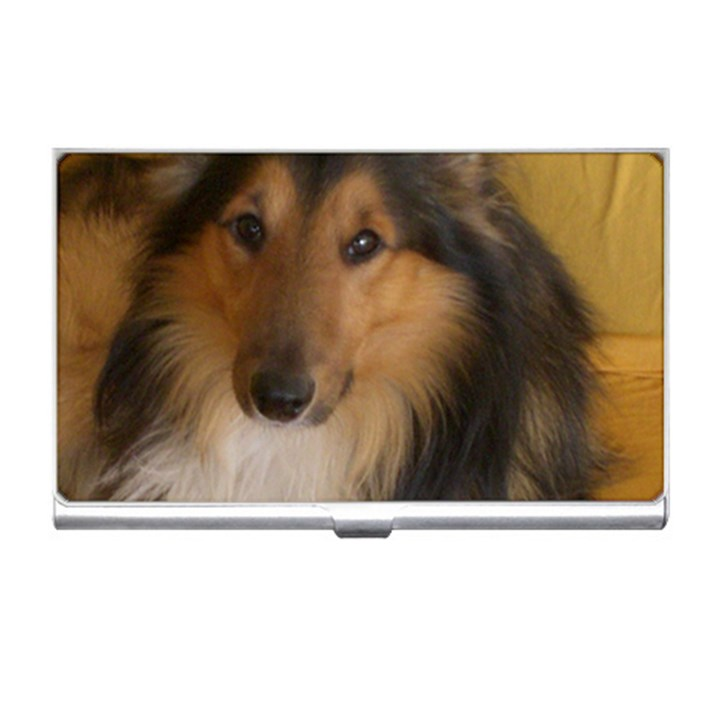 Shetland Sheepdog Business Card Holders
