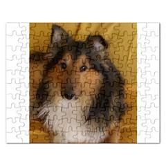Shetland Sheepdog Rectangular Jigsaw Puzzl
