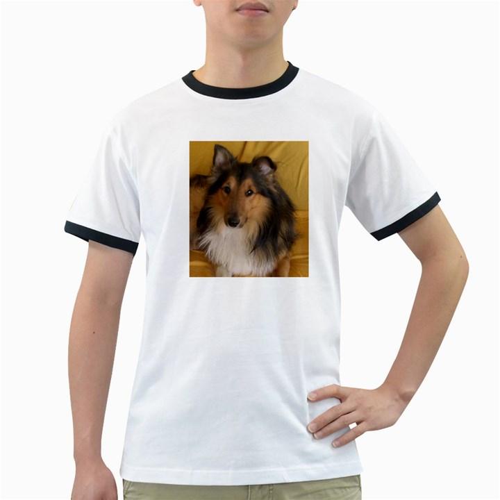 Shetland Sheepdog Ringer T-Shirts