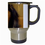 Shetland Sheepdog Travel Mugs (White) Right