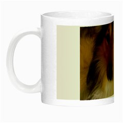 Shetland Sheepdog Night Luminous Mugs