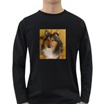 Shetland Sheepdog Long Sleeve Dark T-Shirts Front