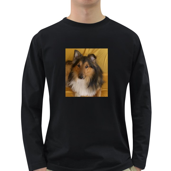 Shetland Sheepdog Long Sleeve Dark T-Shirts