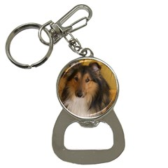 Shetland Sheepdog Bottle Opener Key Chains