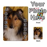 Shetland Sheepdog Playing Cards 54 Designs  Front - Joker1