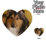 Shetland Sheepdog Playing Cards 54 (Heart)  Back