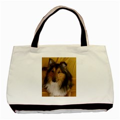 Shetland Sheepdog Basic Tote Bag (Two Sides)