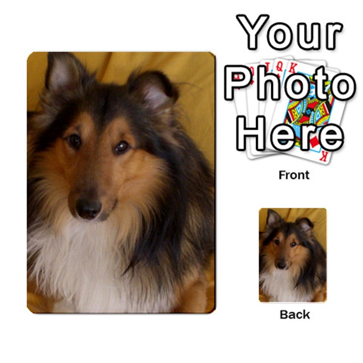 Shetland Sheepdog Multi-purpose Cards (Rectangle)