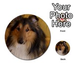 Shetland Sheepdog Multi-purpose Cards (Round)  Back 14
