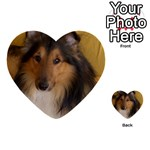 Shetland Sheepdog Multi-purpose Cards (Heart)  Front 16
