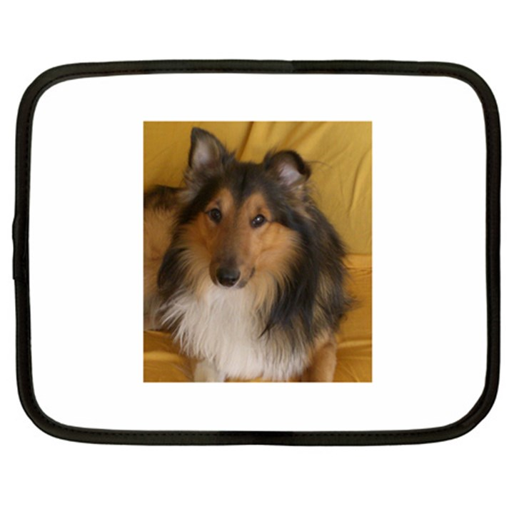 Shetland Sheepdog Netbook Case (Large)