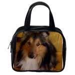 Shetland Sheepdog Classic Handbags (One Side) Front