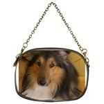 Shetland Sheepdog Chain Purses (Two Sides)  Front