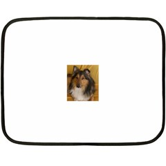 Shetland Sheepdog Fleece Blanket (Mini)